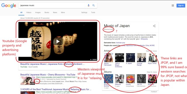 Japanese music search