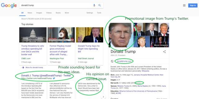 Trump Search